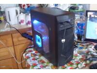 Overclocked Gaming PC Quad Core 880k 4.2GHz 16GB RAM 120GB SSD DEVIL R9 GPU Windows 10