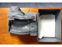 All Saints Black Leather Shoes
