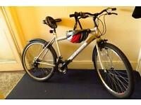 Used bike with accessories