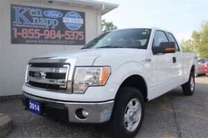 2014 Ford F-150 XLT Bluetooth, Aluminum Wheels, 4X4, 5.0L