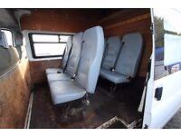 FORD TRANSIT 115 T-350 LWB 9 SEAT CREW VAN – 08-REG