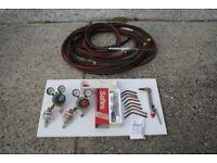 Saffire gas welding regulators and gauges, hoses, plant, nozzles and cutting torches