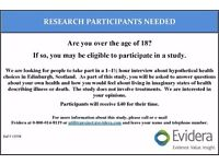Participants Needed for Paid Research Study in Edinburgh