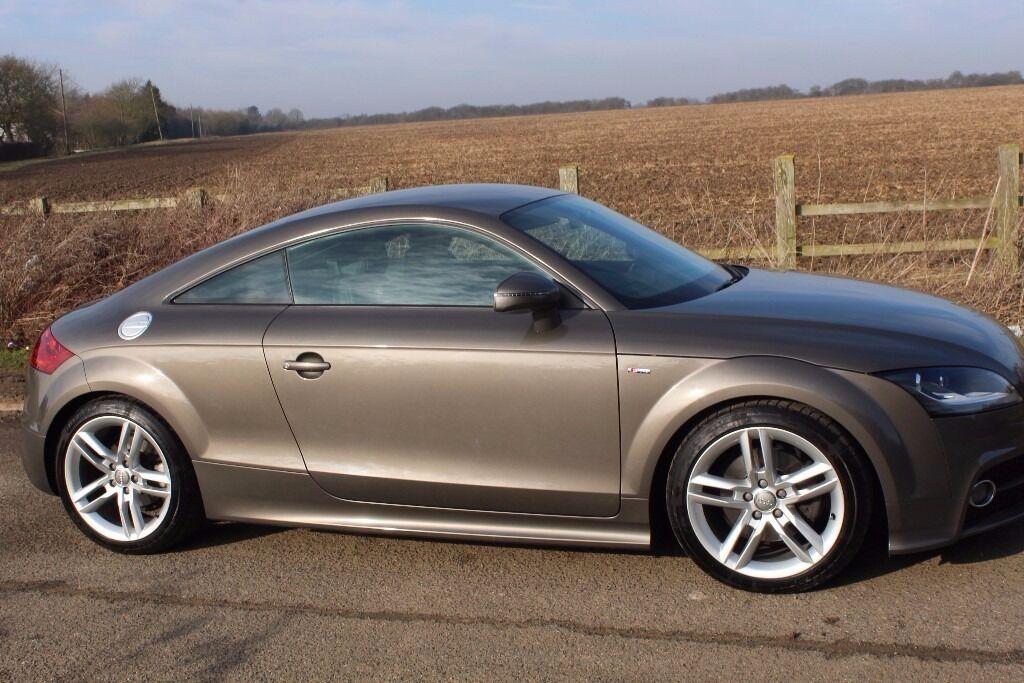 Audi TT S Line TFSI Dakota Grey Complete With Audi Warranty - Audi roadside assistance