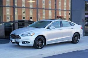 2014 Ford Fusion SE, LEATHER, NAVIGATION, HEATED SEATS BACKUP CA