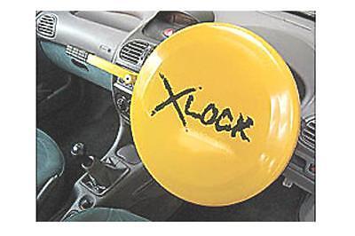 Car van steering Wheel crook  X lock security full face />39cm anti theft disc