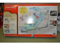 Fisher-Price Soothe and Go Bouncy Seat Used in Great Condition