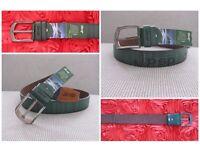 Leather belt for men - Jpsp
