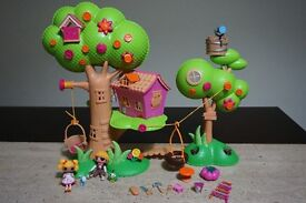 Mini Lalaloopsy Treehouse & ELC Tree house Playset Kids Toy
