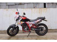 Derbi Derbi Mulhacen Cafe Racer 125cc Custom StickerBomb GP Exhaust 15BHP CBT LEARNER READY!