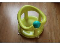 Safety 1st Swivel Bath Seat (Lime). Excellent condition.