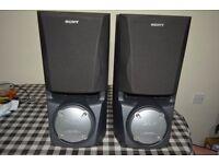 2x Sony SS-XB60 200w speakers!