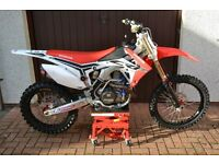 Honda CRF450 2013 Off road motocross bike - Not road registered