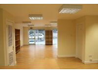 SELF CONTAINED, NEW TOWN, OFFICE / STUDIO WITH 2 PARKING SPACES, IMMACULATE, OPEN PLAN, 6-8 PEOPLE