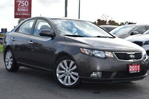 2011 Kia Forte SX | LEATHER | SUNROOF | HEATED SEATS.