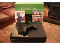 Xbox One 500GB with 2 games and headset