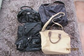 4 Ladies Handbags.