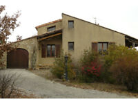French Villa 126sqm in Chassiers, South Ardèche with swimming pool and pool house