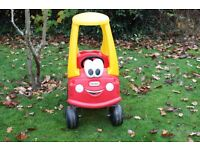Little Tikes Cozy Coupe Red Car