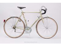 """Peugeot Vintage Road/Touring Bicycle - 59cm/23"""" Large Mens Classic French Steel Town/City Bike"""