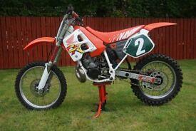 '91 Honda CR250 motocross bike
