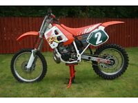 '91 Honda CR250 motocross bike