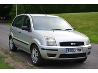 FORD FUSION 3 1.4 TDCI ***ONE OWNER. FULL SERVICE HISTORY. 12 MONTH MOT