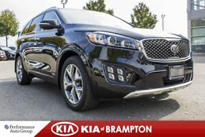 2016 Kia Sorento SX+. 7-PASS. NAPPA LEATHER. CAMERA. NAVI. ROOF