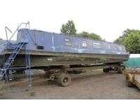 54ft Narrowboat project boat, quick sale needed