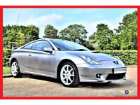 StyLish-- Toyota Celica 1.8 VVTL i - T Sport MODEL -- Leather Seats -- Great Spec --Part Exchange OK