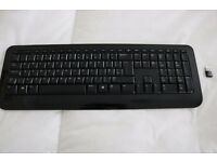 Microsoft Wireless Keyboard 800 with USB receiver