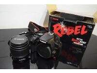 Canon Rebel XSi Boxed with Canon 18-55mm Lens
