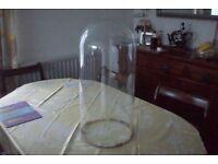 Glass Dome 58cm High 27cm Diameter