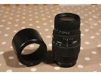 Sigma 70-300mm DG Macro Lens (Canon EF Mount)