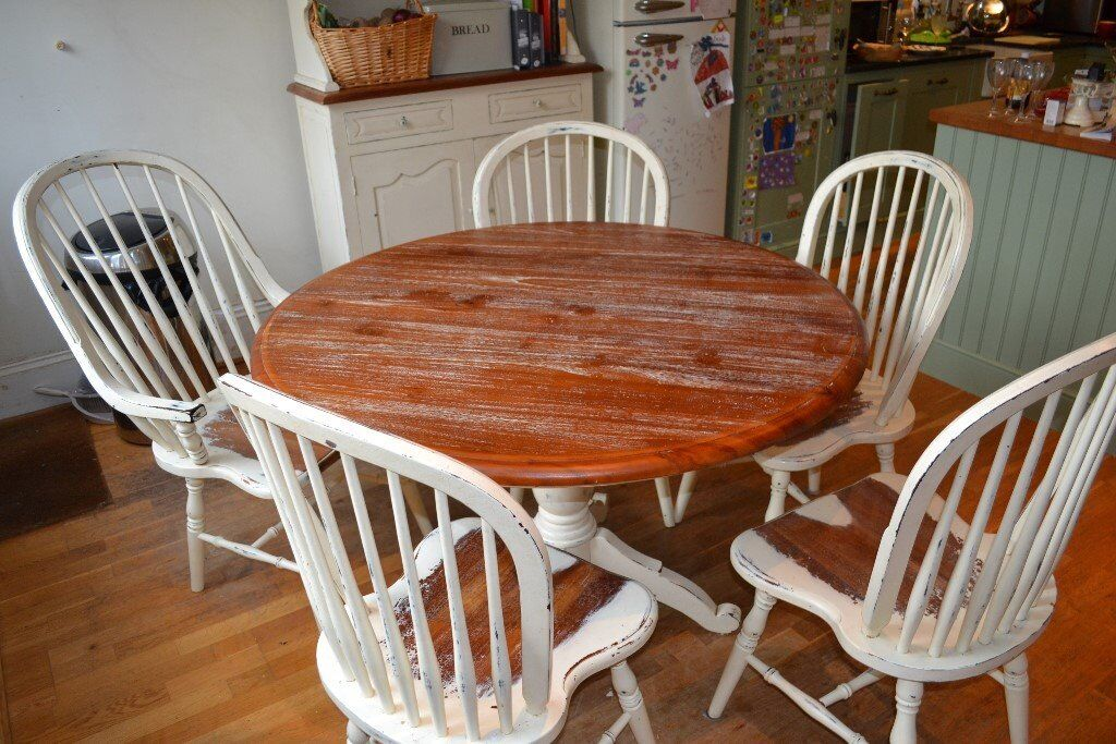 Laura Ashley Bramley Cream Table And Chairs Plus Dresser Available