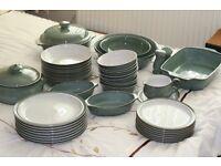 Denby regency green dinner service