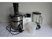 Stainless Steel Whole Fruit Juicer/Smoothie Maker/Blender