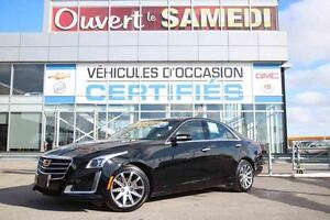 2016 Cadillac CTS SEDAN LUXURY V6+TOIT OUVRANT+PHARES HID+DEMARR