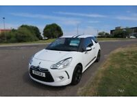 CITROEN DS3 1.6 HDI BLACK AND WHITE,2011,Black Alloys,Air Con,70mpg £20 Road Tax,Superb Condition