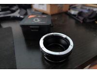 Canon EOS to Fuji XF Converter by K&F Concept