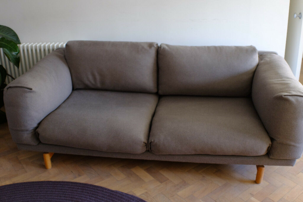 Pleasant High End Designer Scandinavian Sofa Muuto Rest 2 Seater Home Remodeling Inspirations Cosmcuboardxyz