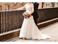 Anna Sorrano ivory wedding dress size 14