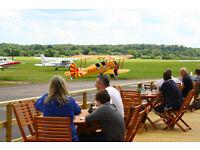 Commis Chef required for busy brasserie in unique venue at Redhill Aerodrome