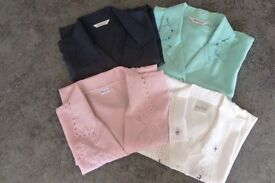 Four Ladies short sleeved Shirt/Blouses