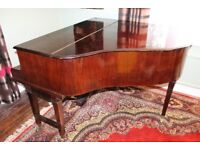 1920 - 1932 Broadwood & Sons Baby-Grand Piano