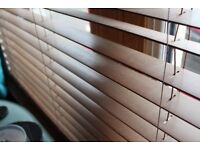 Mahogany Venetian Blinds