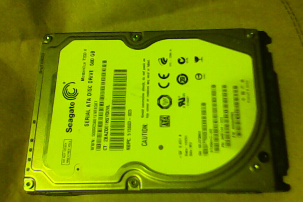 Seagate 500GB laptop hard drive | in Brighton, East Sussex | Gumtree