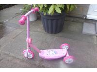 Hello Kitty 3 Wheel Scooter