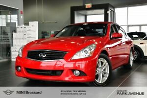 2013 Infiniti G37 AWD + GPS + CAMERA + HI-TECH PKG + WINTER