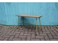 1960'S VINTAGE BROWN FORMICA COFFEE TABLE,RETRO, SHABBY CHIC